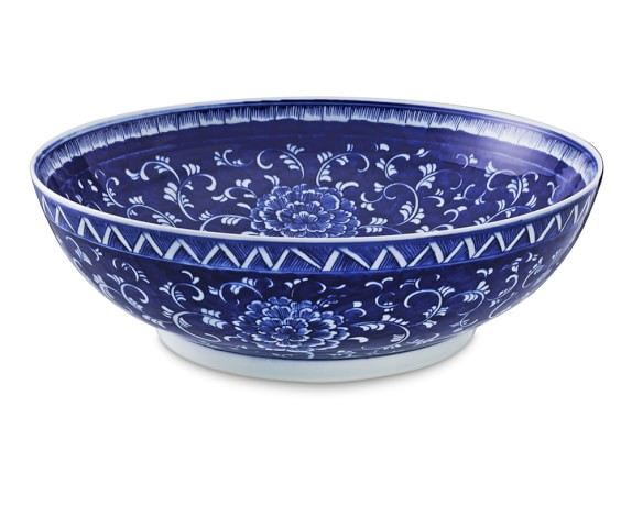 Chinoiserie Ceramic Bowl