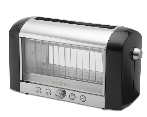 Magimix Colored Vision Toaster, Black