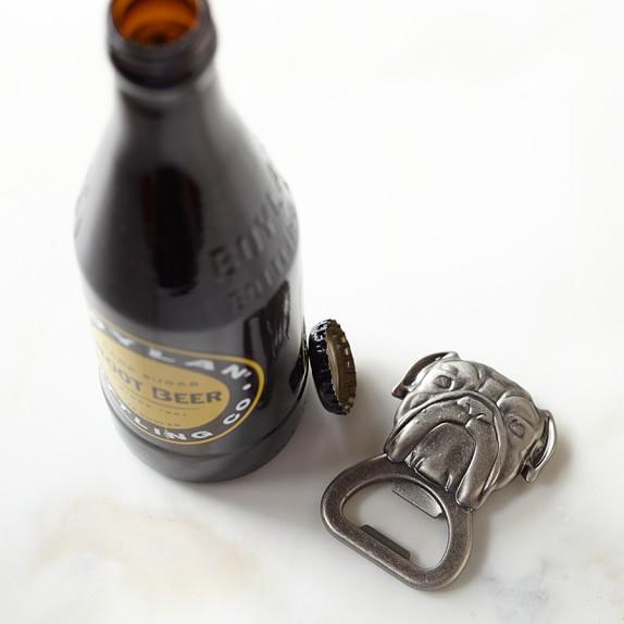 Novelty Handheld Bottle Opener, Bulldog