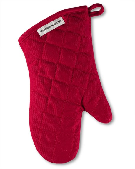Williams Sonoma Oven Mitt, Claret
