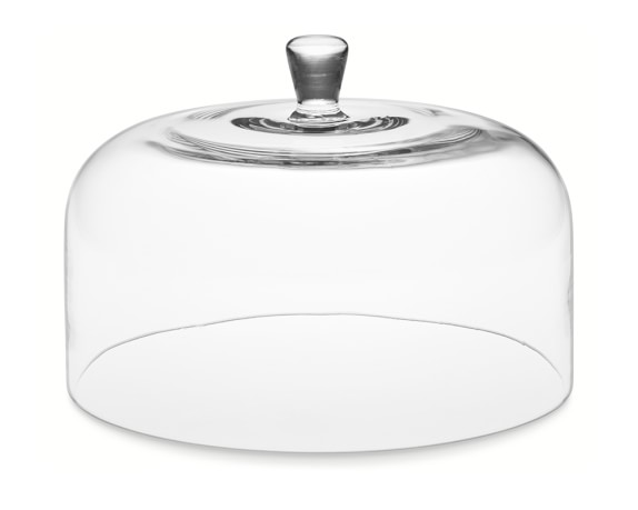 Glass Cake Dome, Large