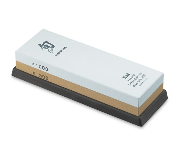 Shun 300/1,000-Grit Combination Whetstone