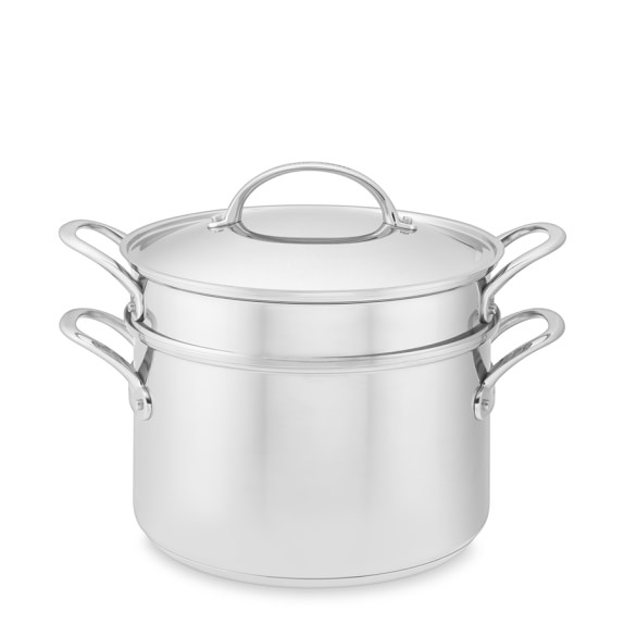 Williams-Sonoma Stainless-Steel Multipot with Pasta Insert, 8-Qt.