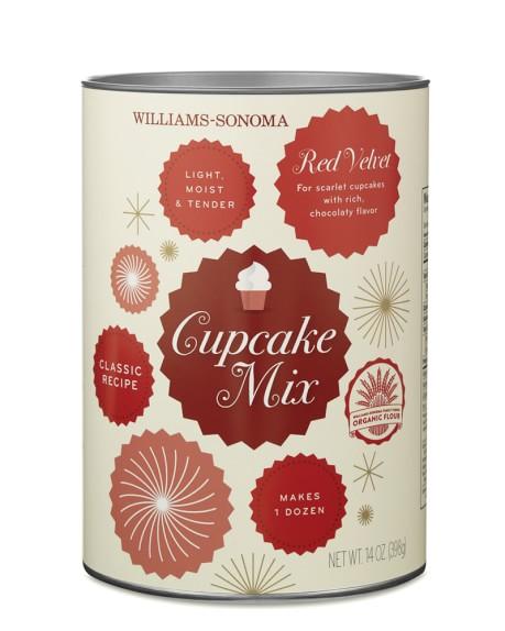Williams-Sonoma Cupcake Mix, Red Velvet