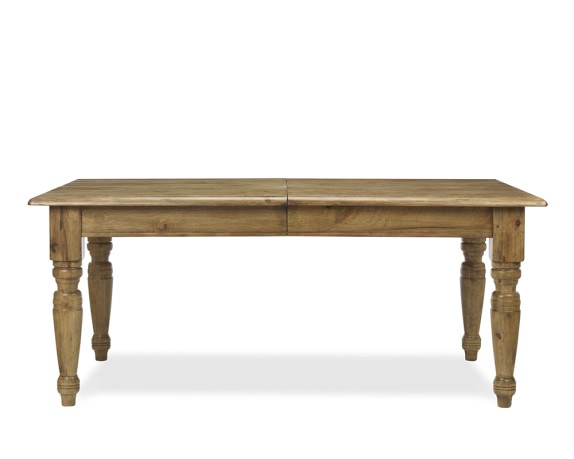 Harvest Dining Table, Distressed Honey
