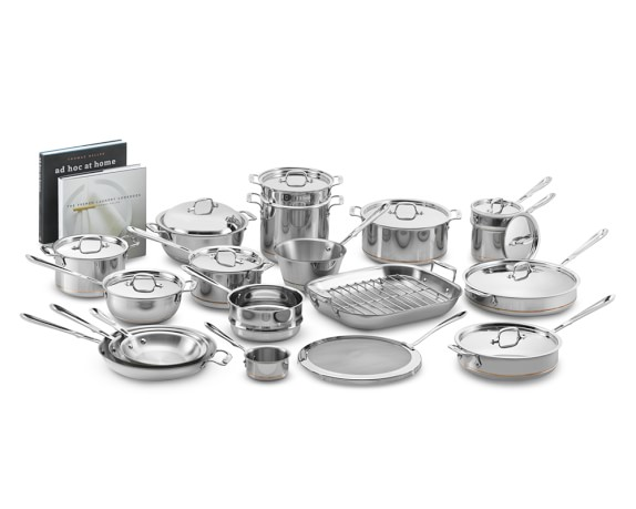All-Clad Copper Core Ultimate 30-Piece Cookware Set
