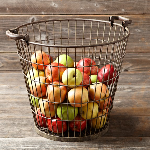 Wire Apple Basket