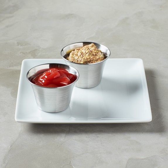 Stainless-Steel Sauce Cups