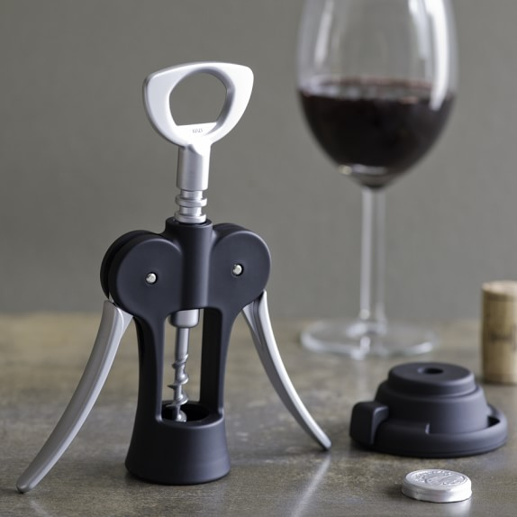 Vigneto Winged Corkscrew Wine Opener with Foil Cutter