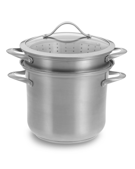 Calphalon Contemporary Stainless-Steel Multipot
