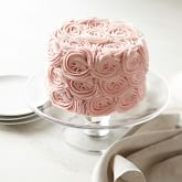 Pink Rose Chocolate Layer Cake