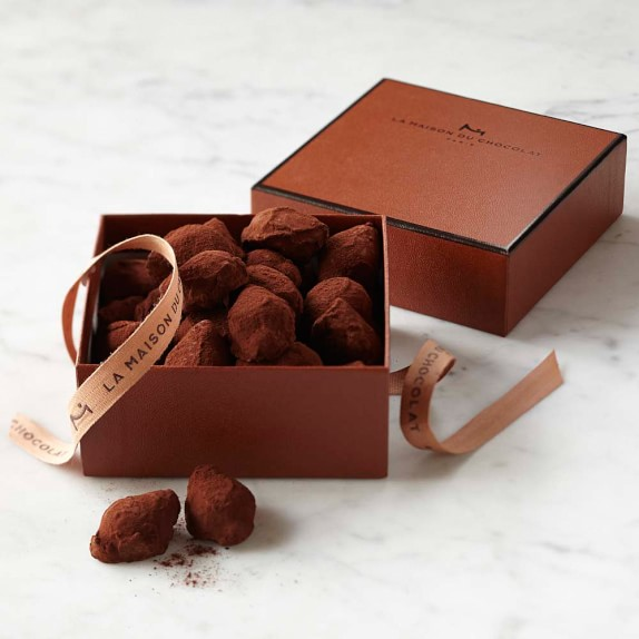 la maison du chocolat cognac truffles williams sonoma