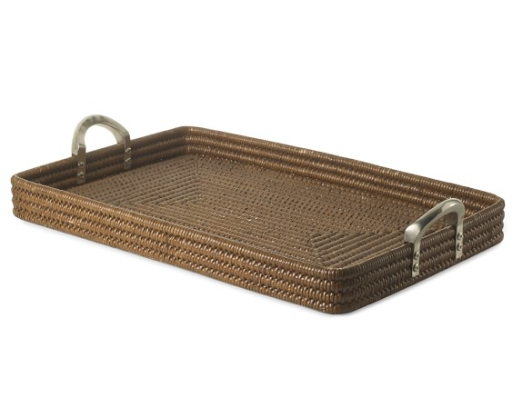 Palau Woven Rectangle Tray