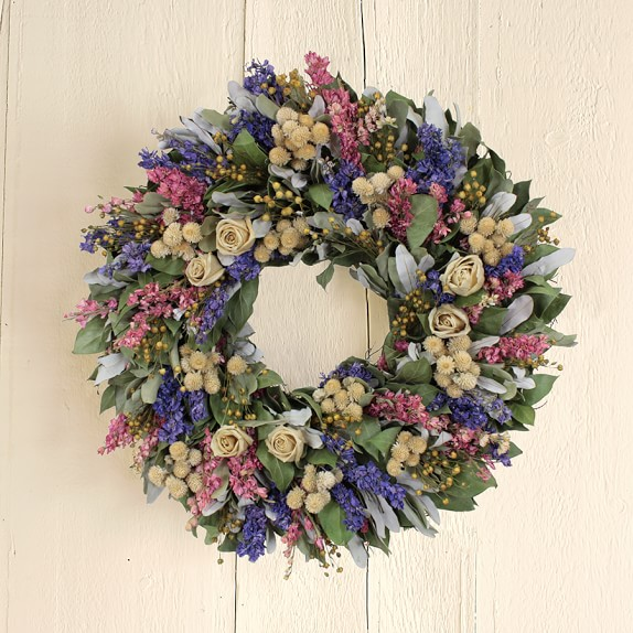 Enchanted Rose Garden Wreath, 20