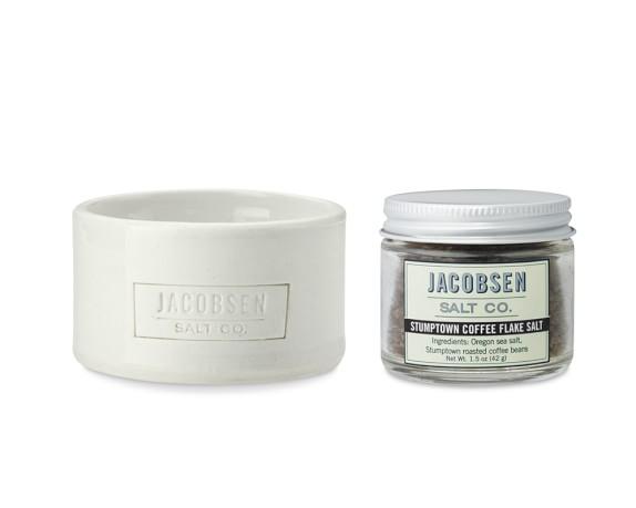 Jacobsen Salt Co. Stumptown Coffee Salt with Cellar