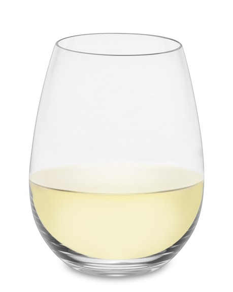 Williams Sonoma Reserve Stemless White Wine Glasses, Set of 2