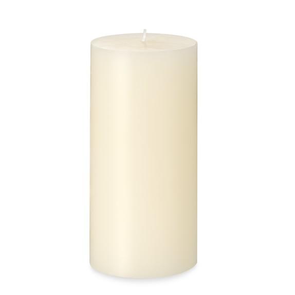 Pillar Candle, Ivory, 3