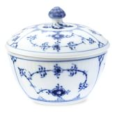 Royal Copenhagen Blue Fluted Plain Sugar Bowl