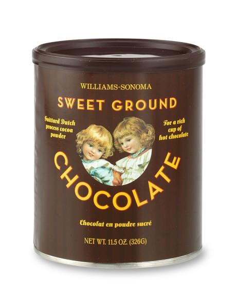 Williams Sonoma Sweet Ground Chocolate