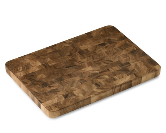End-Grain Cutting Board, Acacia