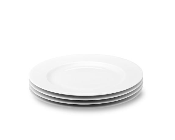 Apilco Tuileries Porcelain Salad Plates, Set of 4