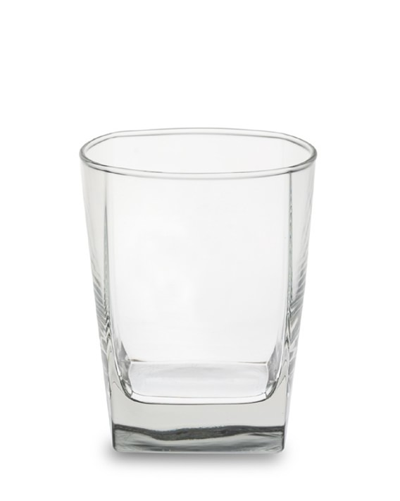 Square Rocks Glass