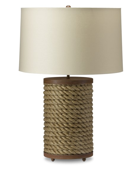 Rope Table Lamp, Set of 2