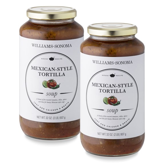Williams-Sonoma Mexican Style Tortilla Soup Starter, Set of 2