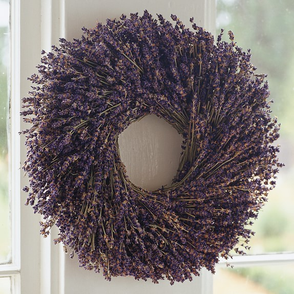 Lavender Wreath, 14