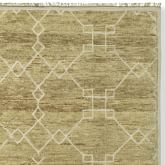 Thomas Obrien Diamond Fretwork Rug Swatch