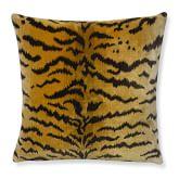 Scalamandre Tiger Pillow Cover, 20