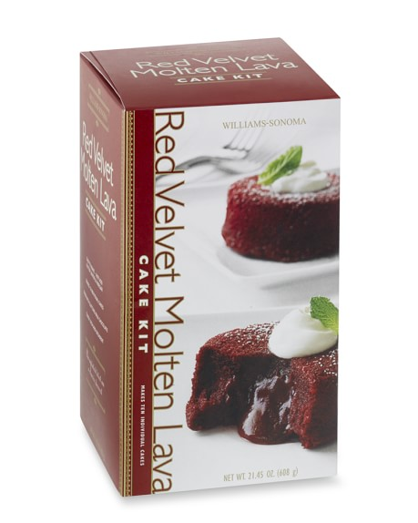 Red Velvet Molten Lava Cake Mix
