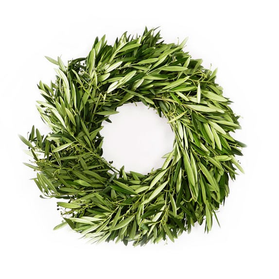 olive wreath Olympic wreath 43 based on 8 ratings if an olympic athlete won an event during the ancient olympic games, a wreath woven out of olive branches —symbolizing peace in ancient greece—was placed upon his head times have certainly changed, but why not pay homage to this ancient tradition with a modern-day version of this wearable wreath.