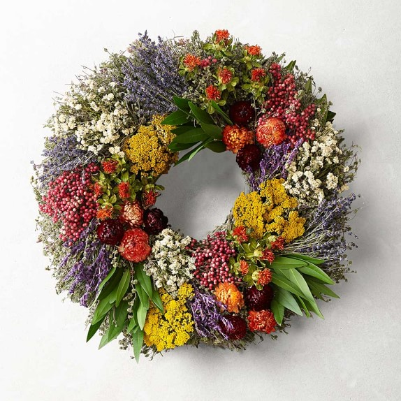 Farmers' Market Wreath, 16