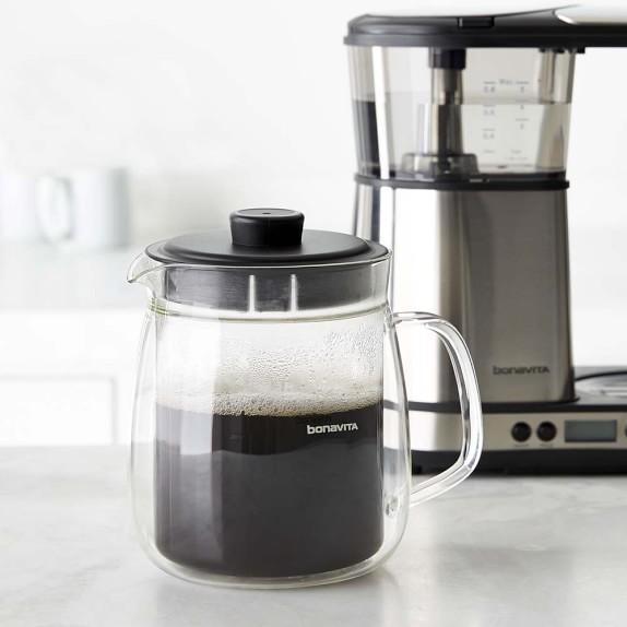 Bonavita Coffee Maker Williams Sonoma : Bonavita 8-Cup Double Walled Glass Carafe for Digital Coffee Brewer Williams-Sonoma