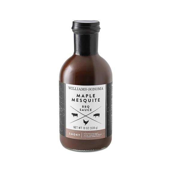 Williams Sonoma BBQ Sauce, Maple Mesquite