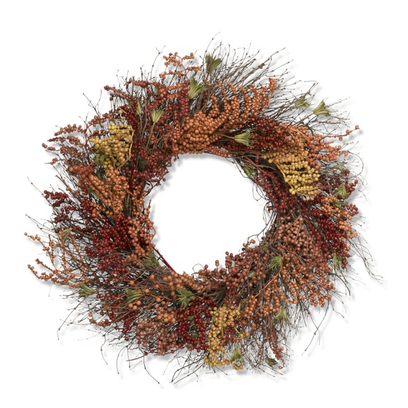Autumn Berry Wreath, 22