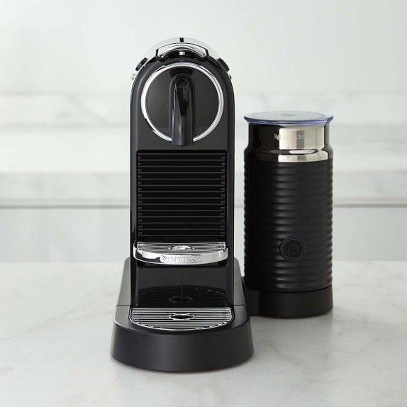 Nespresso Citiz Espresso Maker with Milk Frother, Black