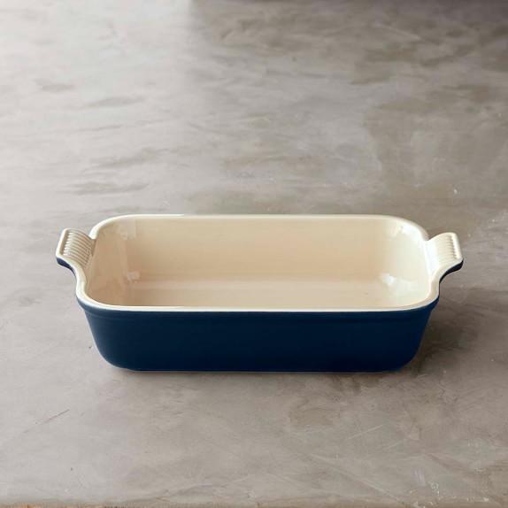 Le Creuset Stoneware Heritage Rectangular Dish, 7