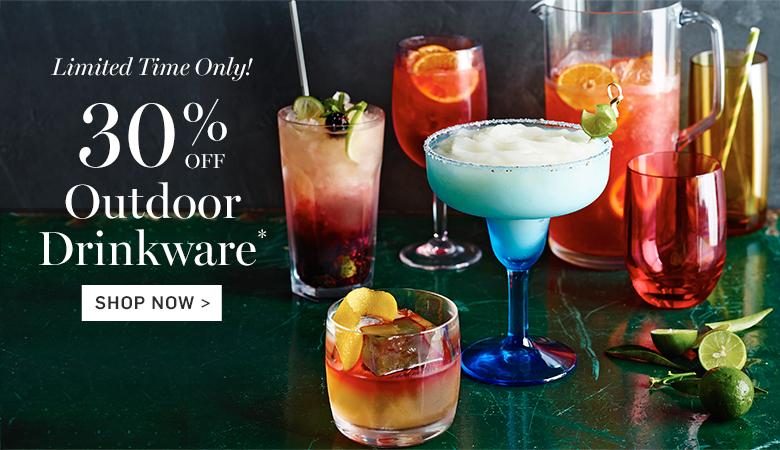 30% Off Outdoor Drinkware