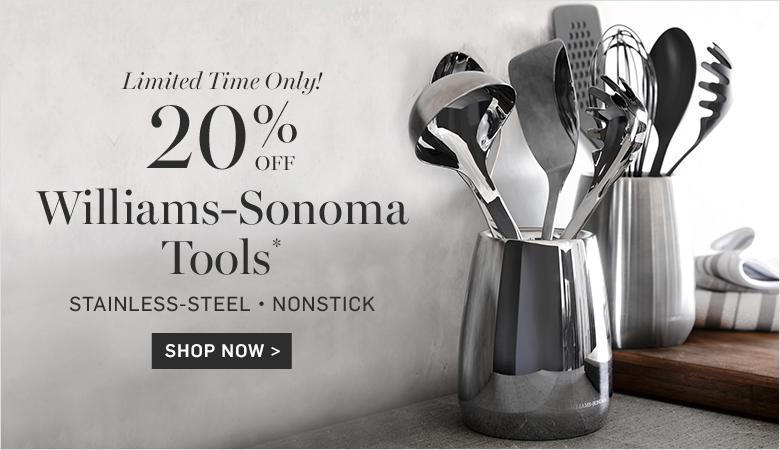 20% Off Williams-Sonoma Tools