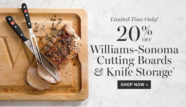 Williams-Sonoma Cutting Boards & Knife Storage