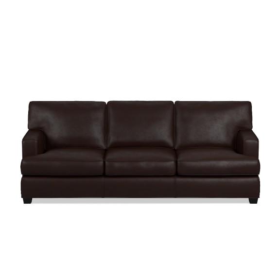 Jackson Leather Sofa Williams Sonoma