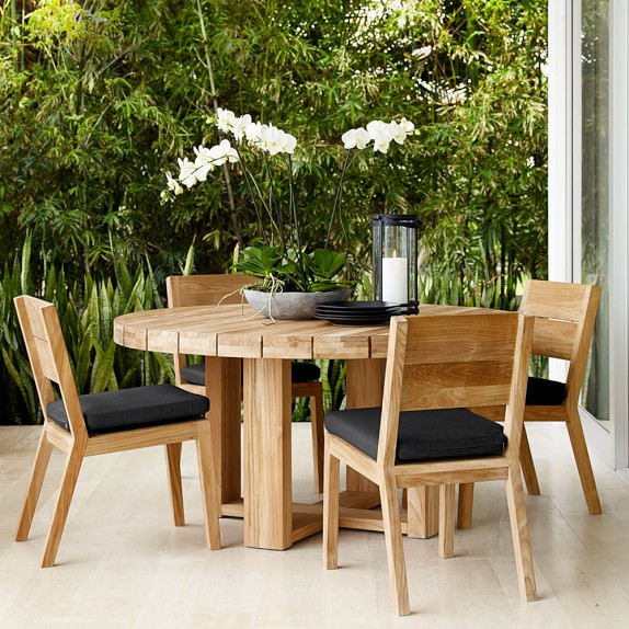 larnaca outdoor round dining table williams sonoma