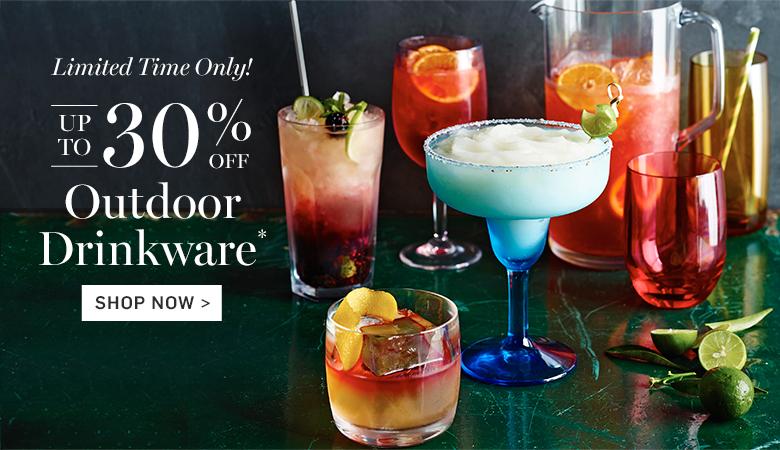 Up to 30% Off Outdoor Drinkware
