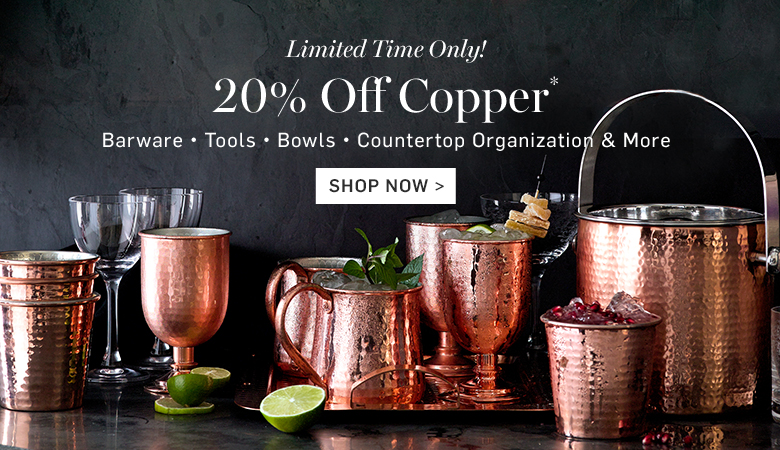 Copper Entertaining