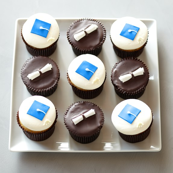 More® Graduation Cupcakes Sampler, Blue