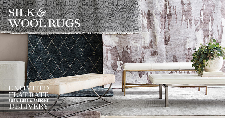 Silk & Wool Rugs