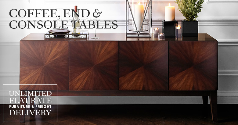 Coffee, End & Console Tables