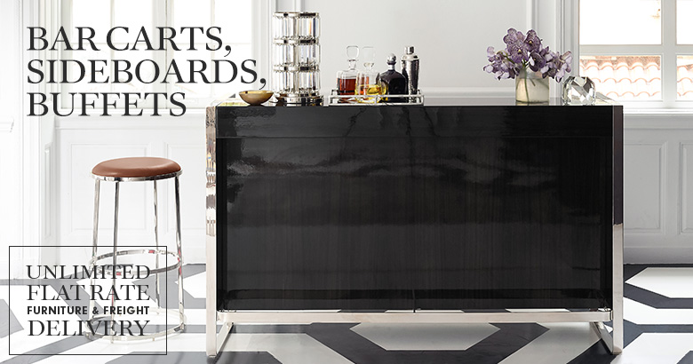 Bar Carts, Sideboards & Buffets
